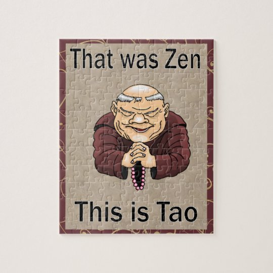Zen and Tao Jigsaw Puzzle