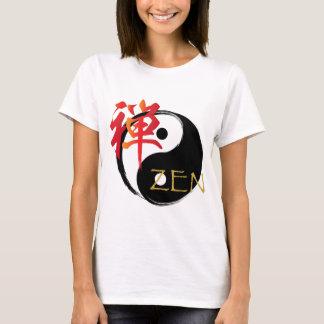 Zen and Yin Yang Symbol Women's T Shirts