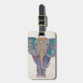Zen Asian Elephant Luggage Tag