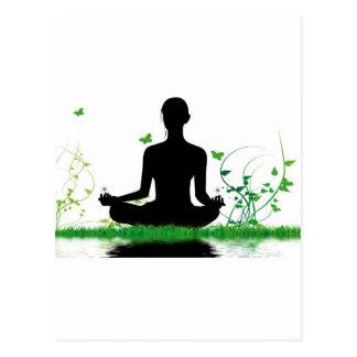 Zen attitude postcard