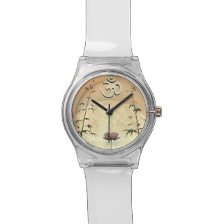 Zen aum - 3D render Wrist Watch