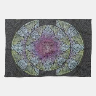 Zen Awakening, reiki, healing, chakra Tea Towel