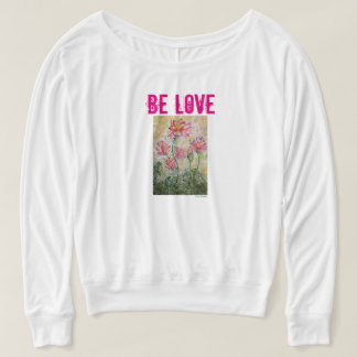 Zen Be Love Pink Lotus Shirt