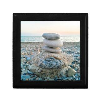 Zen Beach Stones Gift Box
