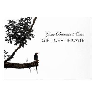Zen Bird Oriental Zen Photography Gift Certificate Pack Of Chubby Business Cards