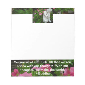 """Zen Buddha 5.5x6"""" Notepad"""