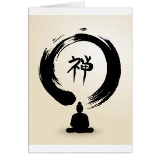 Zen Buddha blank cards