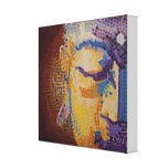 Zen Buddha Gallery Wrapped Canvas