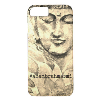 Zen Buddha Watercolor Art Phone Case