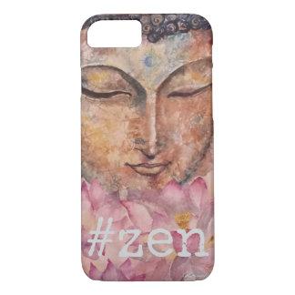 Zen Buddha Watercolor Art Phone Case