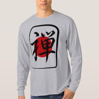 Zen Buddhism kanji tile T-Shirt