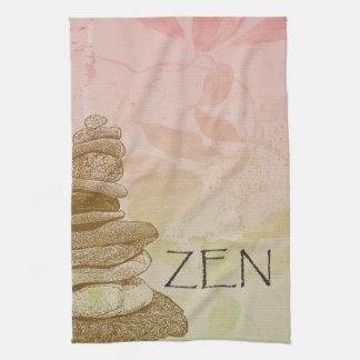 Zen Cairn Tea Towel