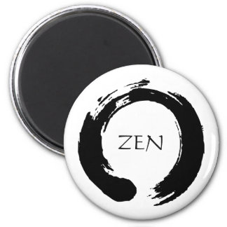 Zen Circle Fridge Magnet