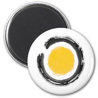 Zen Circle Refrigerator Magnet
