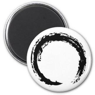 Zen Circle 6 Cm Round Magnet