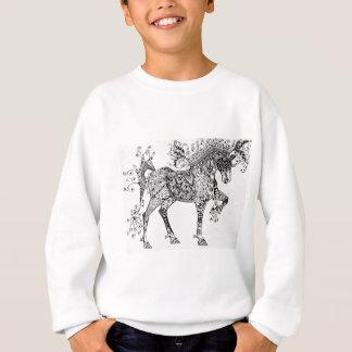 Zen Cirque Horse Sweatshirt