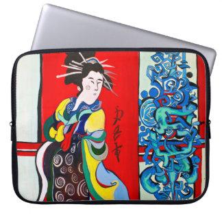 Zen computer case laptop computer sleeves