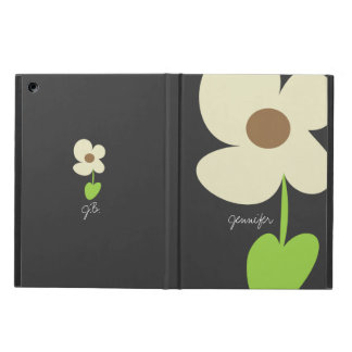 Zen Daisy Personalized Powis iPad Air Case - Gray