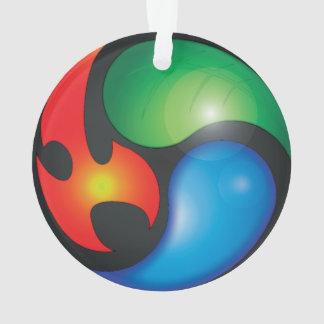 Zen Elements Yin Yan Symbol