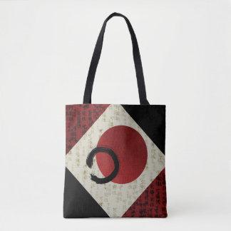 Zen Ensō Circle with Kanji Potential  1 Tote Bag