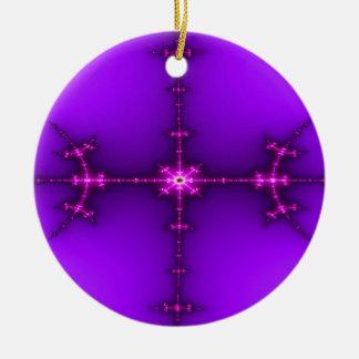 Zen Fractal Christmas Ornaments
