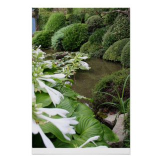 Zen Garden 1 with White border Other Posters