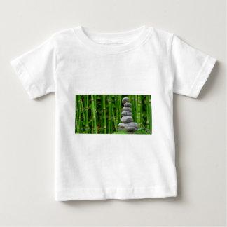 Zen Garden Meditation Monk Stones Bamboo Rest Baby T-Shirt