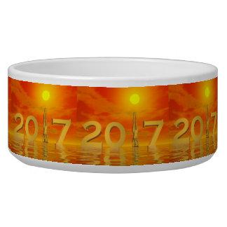 Zen happy new year 2017 - 3D render
