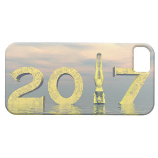 Zen happy new year 2017 - 3D render Case For The iPhone 5