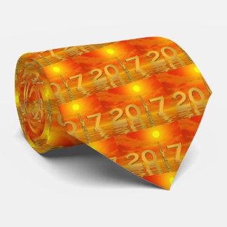 Zen happy new year 2017 - 3D render Tie