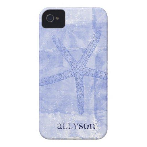 Zen Inspired Beach Theme Starfish iPhone 4 Case