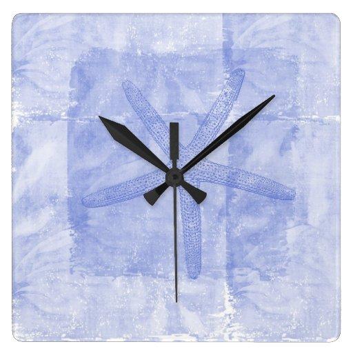 Zen Inspired Beach Theme Starfish Wall Clock