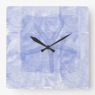 Zen Inspired Beach Theme Starfish Wall Clocks