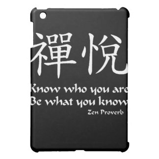 Zen Joy - Know Who You Are Cover For The iPad Mini