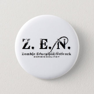 zen logo 6 cm round badge