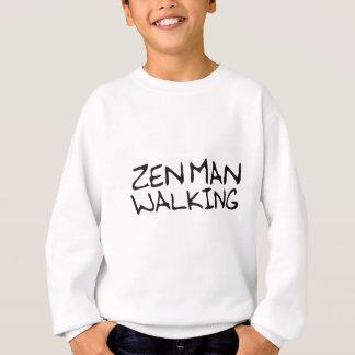 Zen Man Walking Sweatshirt