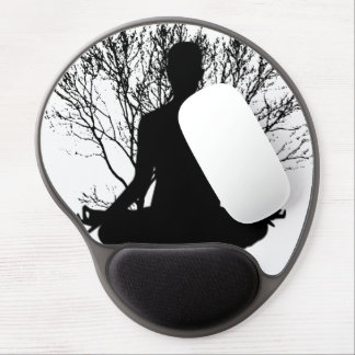 Zen Meditation Gel Mousepad
