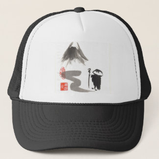 Zen Monk on Journey Trucker Hat