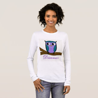 Zen Owl Long Sleeve T-Shirt