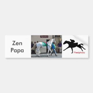 Zen Papa Bumper Sticker