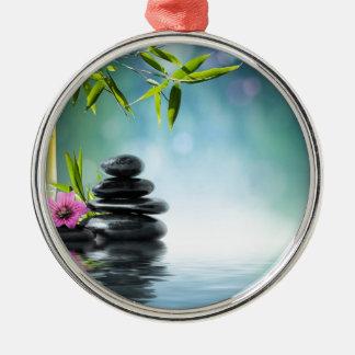 zen paradise aka Bali last summer- 2012 II Silver-Colored Round Decoration