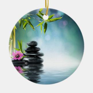 zen paradise aka Bali last summer- 2012 II Christmas Ornament