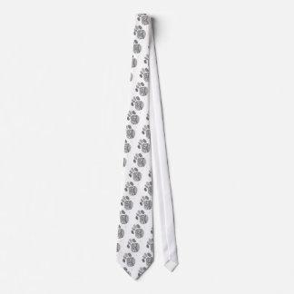 Zen Paw Tie