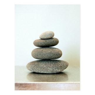 Zen Pebbles Postcard