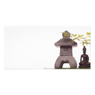 Zen Personalized Photo Card