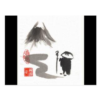 Zen Pilgrim Postcard