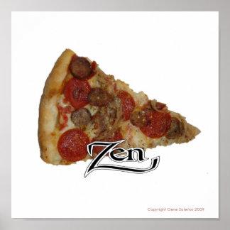 Zen Pizza Poster