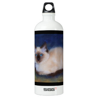 Zen Ragdoll kitten painting SIGG Traveller 1.0L Water Bottle