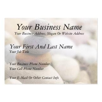 Zen Rock Garden Business Card Template