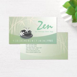 50 zen bamboo business cards and zen bamboo business card for Zen business cards